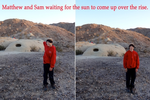 Matt and Sam.sunrise