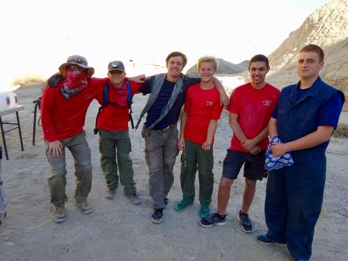 Adventurer scouts